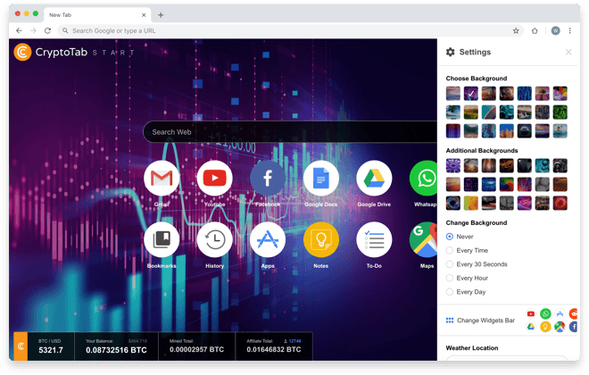 CryptoTab Start
